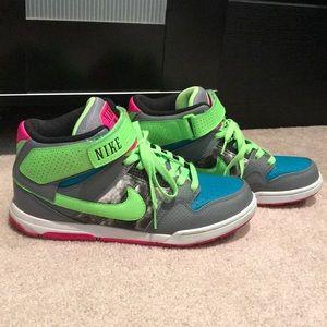 Nike Mid-top Lime Green sneaker